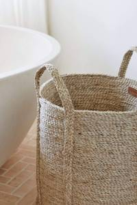 Bilde av Dharma Door - Jute Laundry Basket - Natural