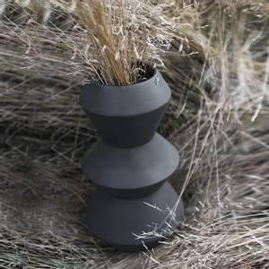 Bilde av Ygg & Lyng - Dia Vase - coal Black