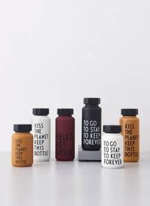 Bilde av Design Letters - Thermo/Insulated Bottle  - White