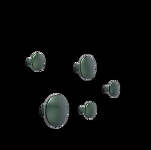 Bilde av Muuto - Dots Metal - Set - Dark Green